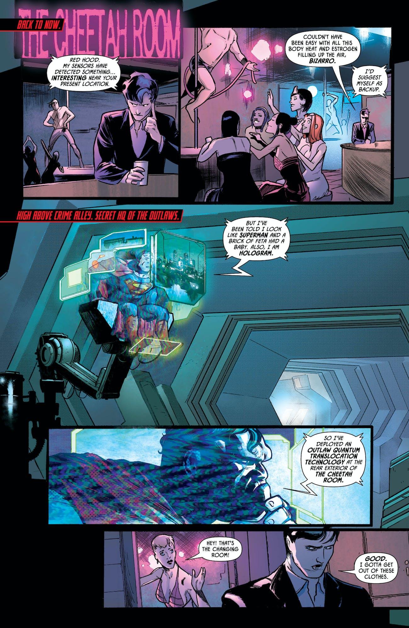 Catwoman Batman Red Hood Wedding