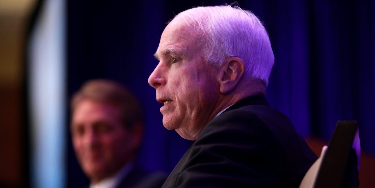 John McCain & Jeff Flake