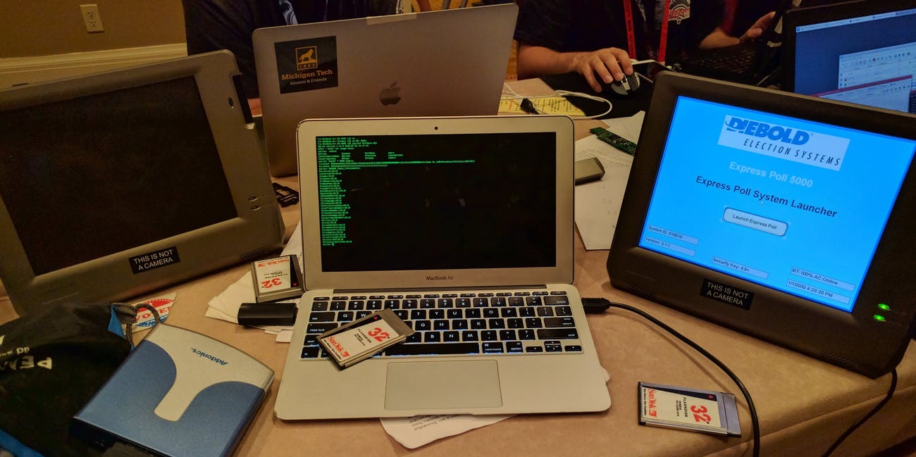 TJ Horner hacked voting machines at DEFCON