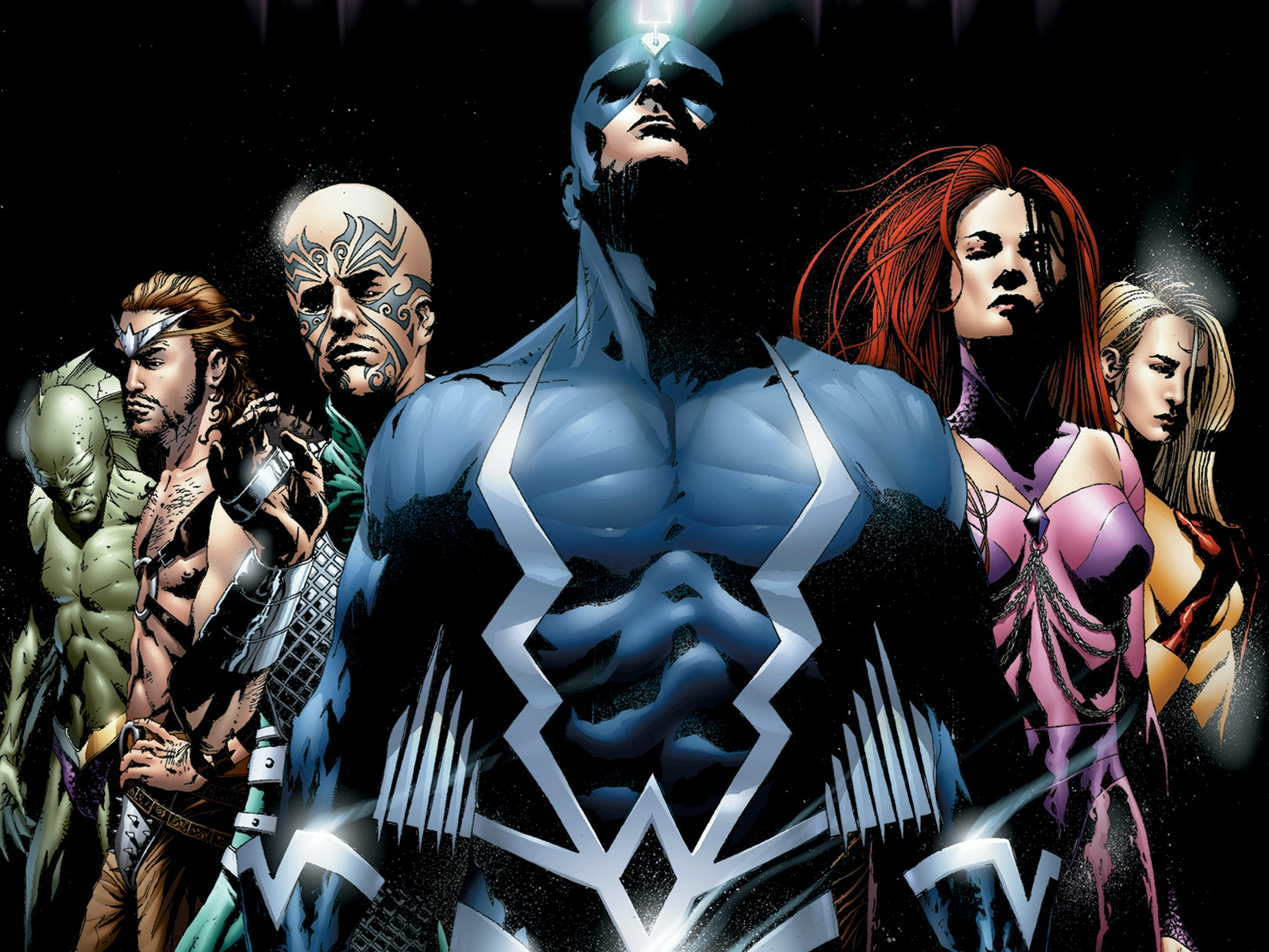 Marvel's Plans to Introduce Inhumans Will Include the Moon