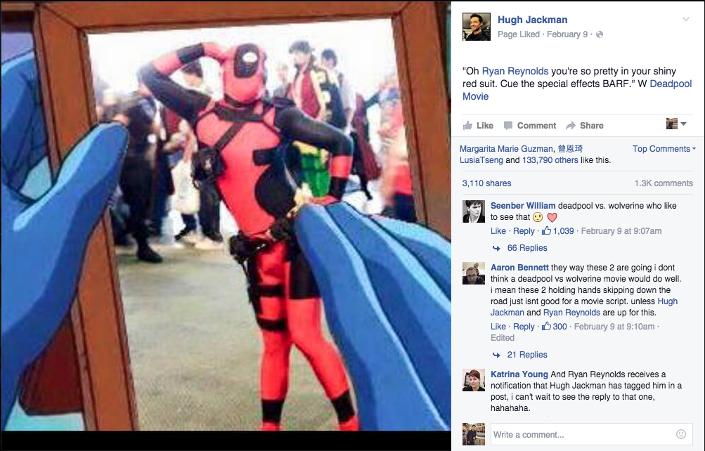 The internets favorite deadpool cosplayer is unsure about his that original photo is a picture of me from 2011 and the picture he cropped its actually from a meme i made he explains i didnt invent deadpool solutioingenieria Images
