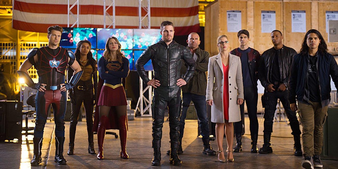 Arrow The Flash Supergirl Legends of Tomorrow