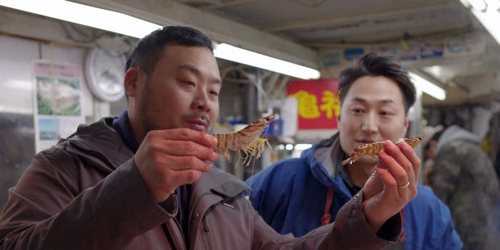 Chef David Chang hosts Netflix's 'Ugly Delicious'.
