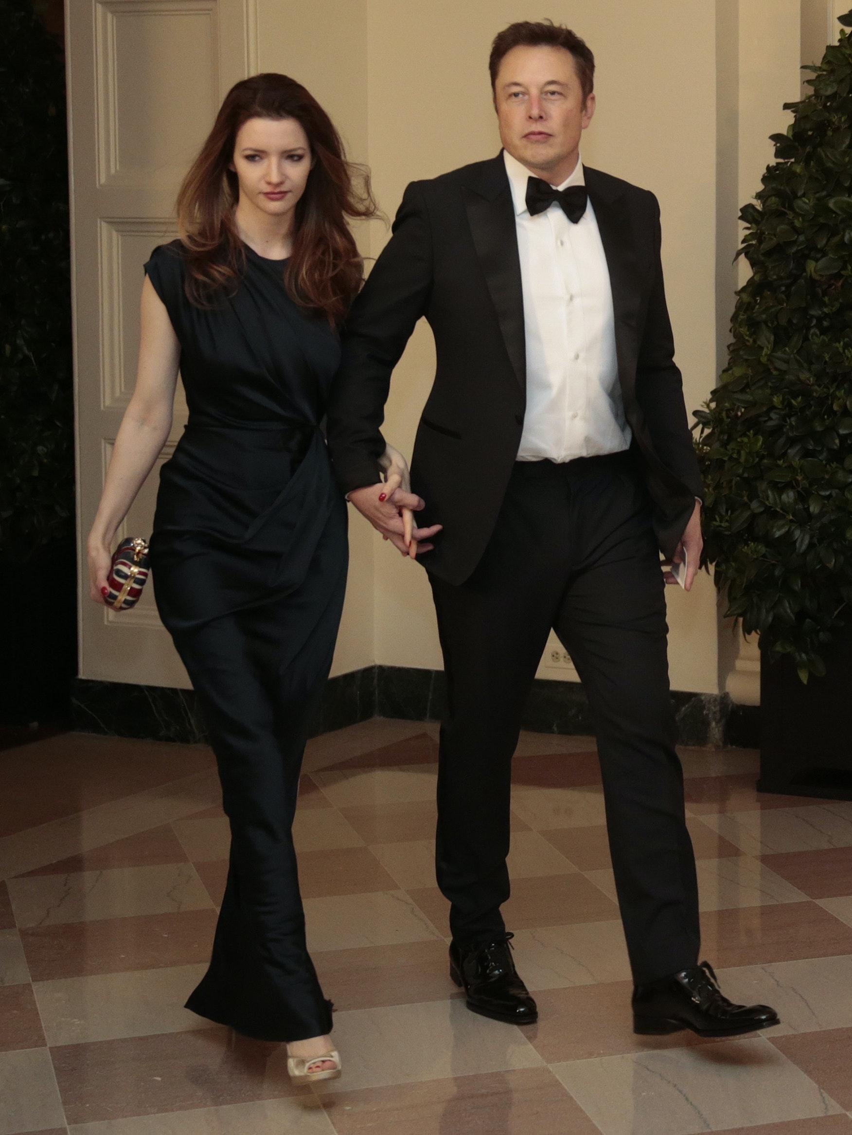 Elon Musk and Talulah Musk