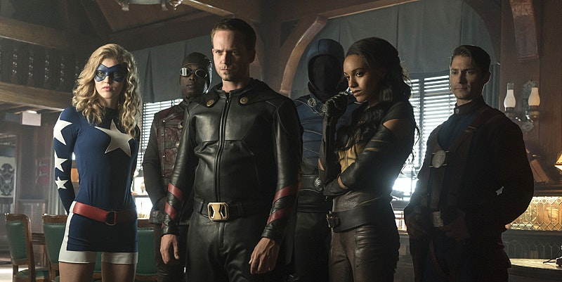 Justice Society of America Legends of Tomorrow Season 2