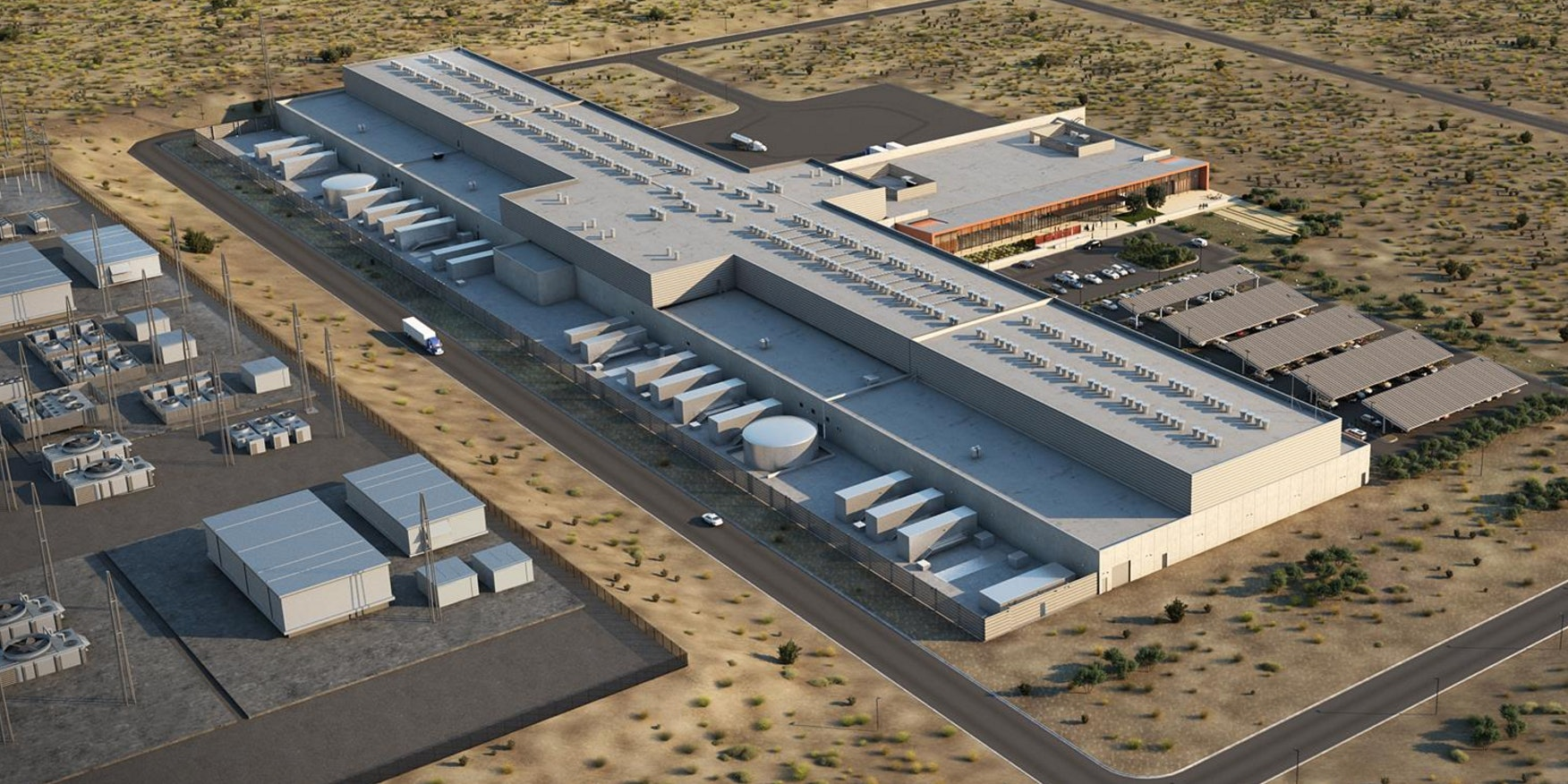Facebook is building a massive new data center in Los Lunas, New Mexico.