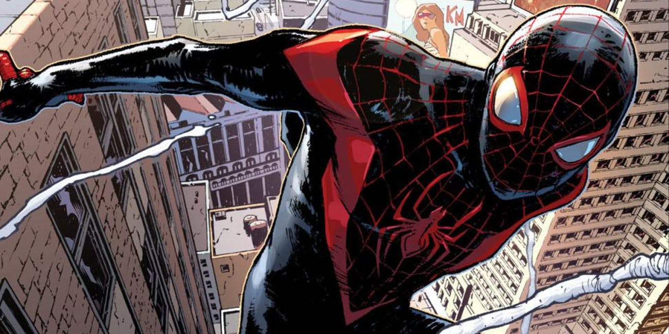 Miles Morales as Spider-Man