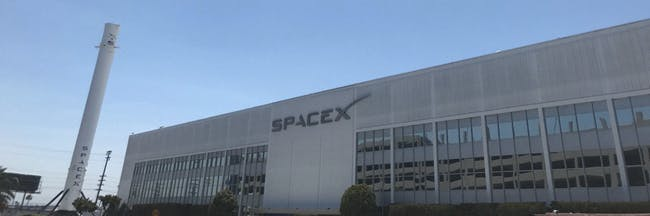 Why is a Giant Rocket Parked Next to SpaceX's Headquarters