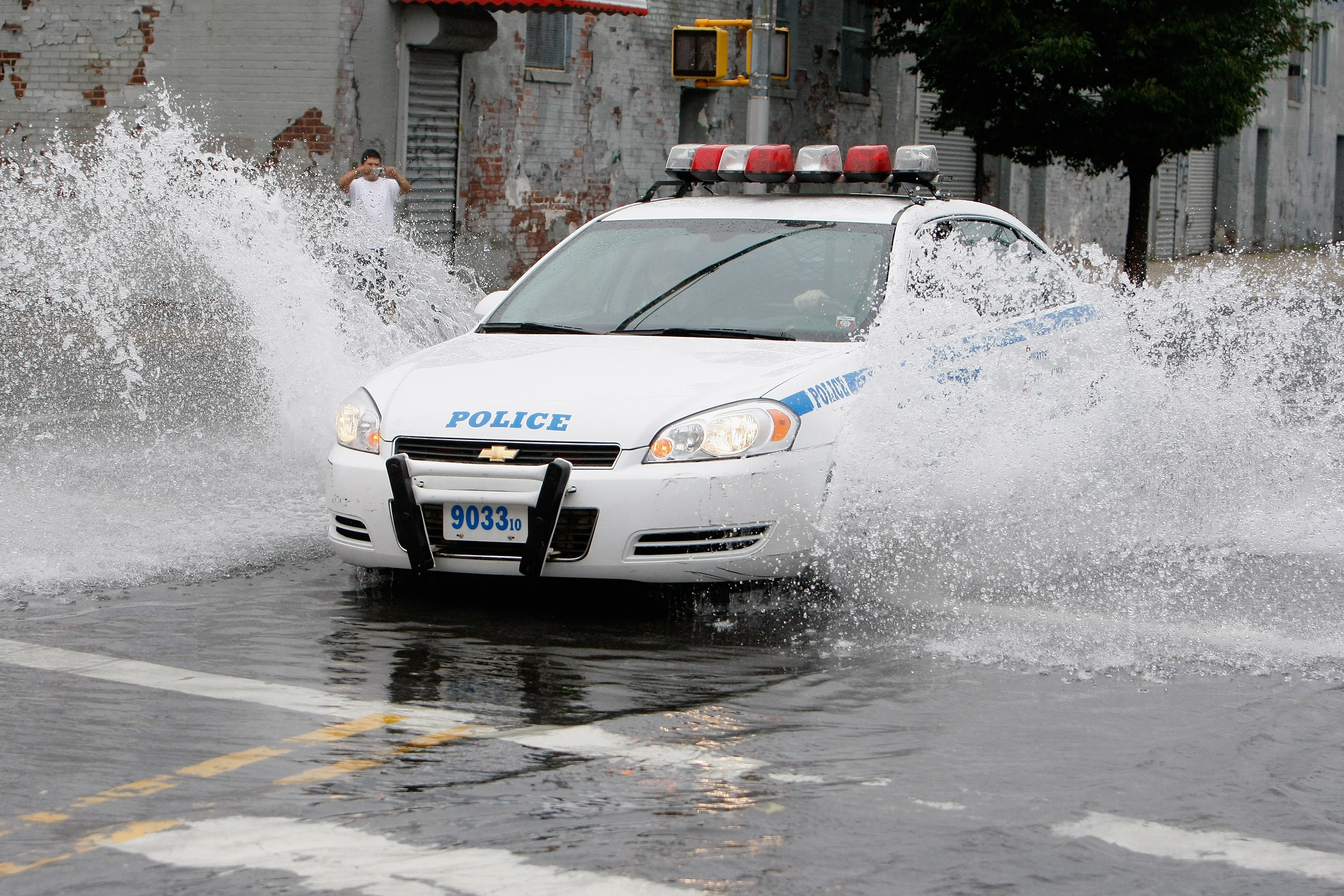 Meanwhile, Chevy is planning a cop car that is also a boat, for when global warming floods our cities. (Not really).