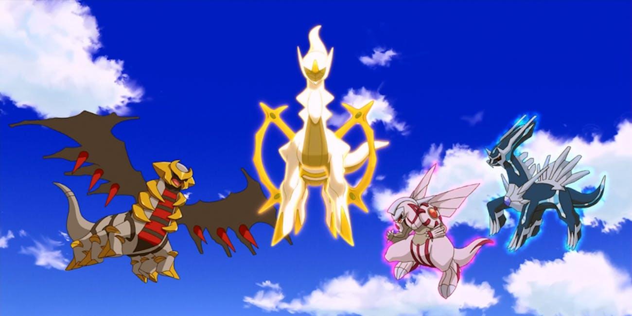 pokemon go gen 4 legendaries