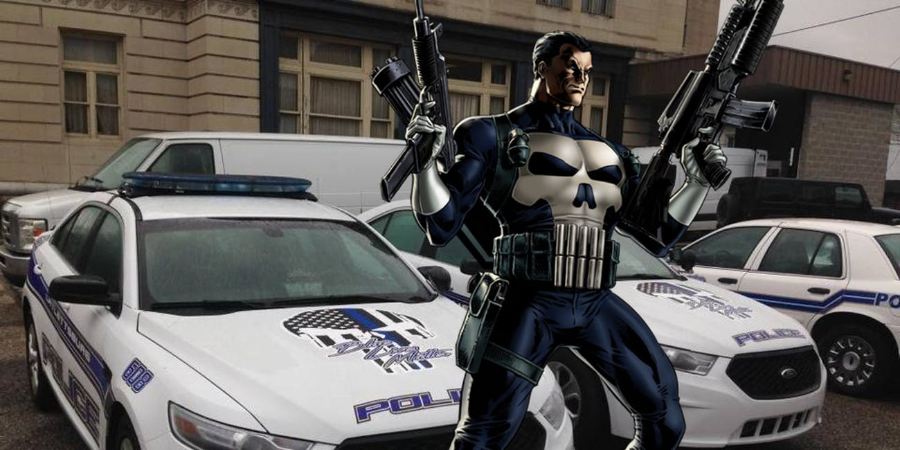 punisher cops