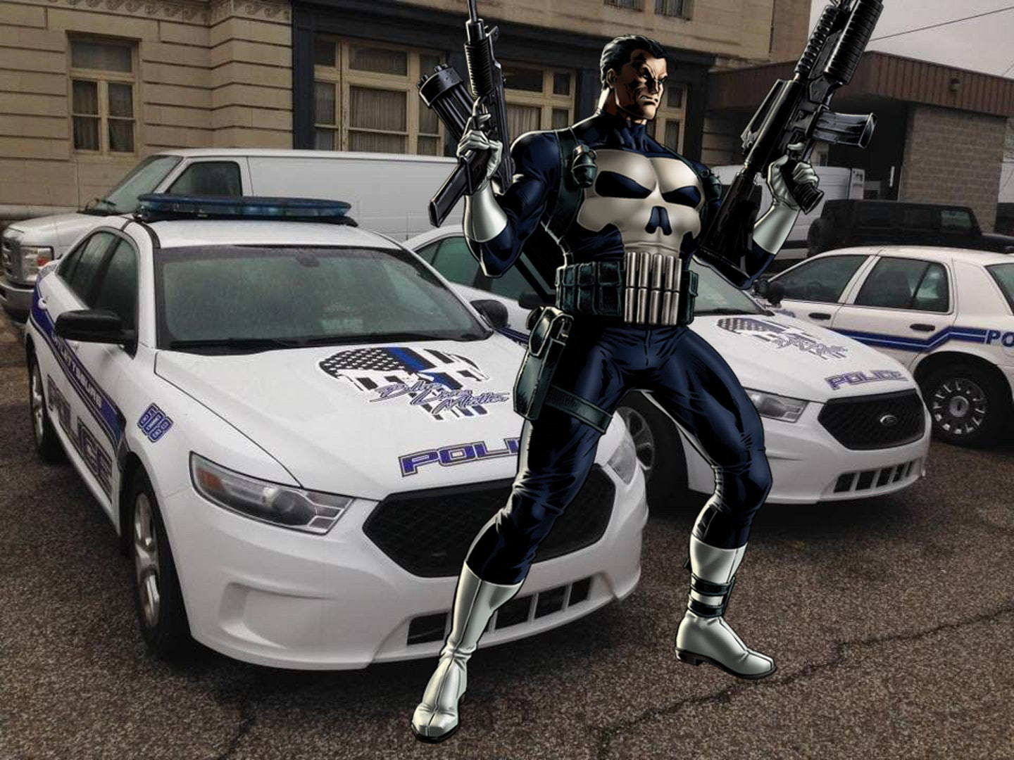 Cops Who Use Punisher Imagery Don't Know What They're Doing