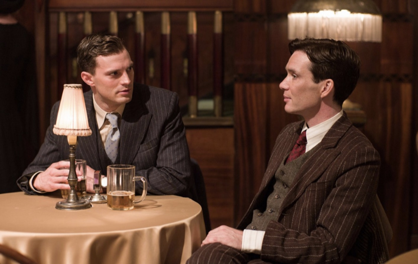 Dornan and Cillian Murphy as Jozef Gabčík in 'Anthropoid'.