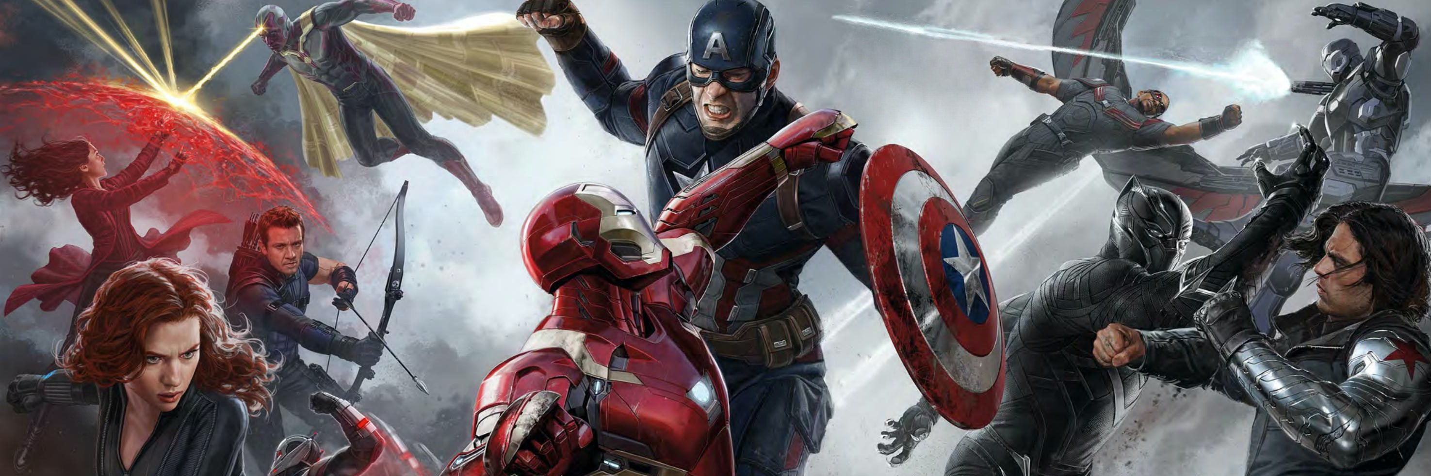 Captain America: Civil War from Marvel Studios and Disney