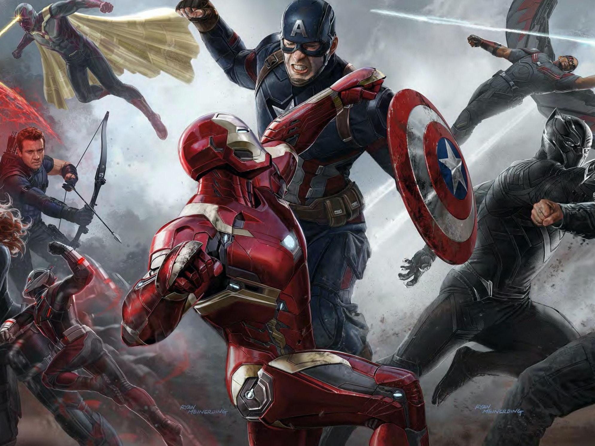 Captain America: Civil War from Marvel Studios and Disney