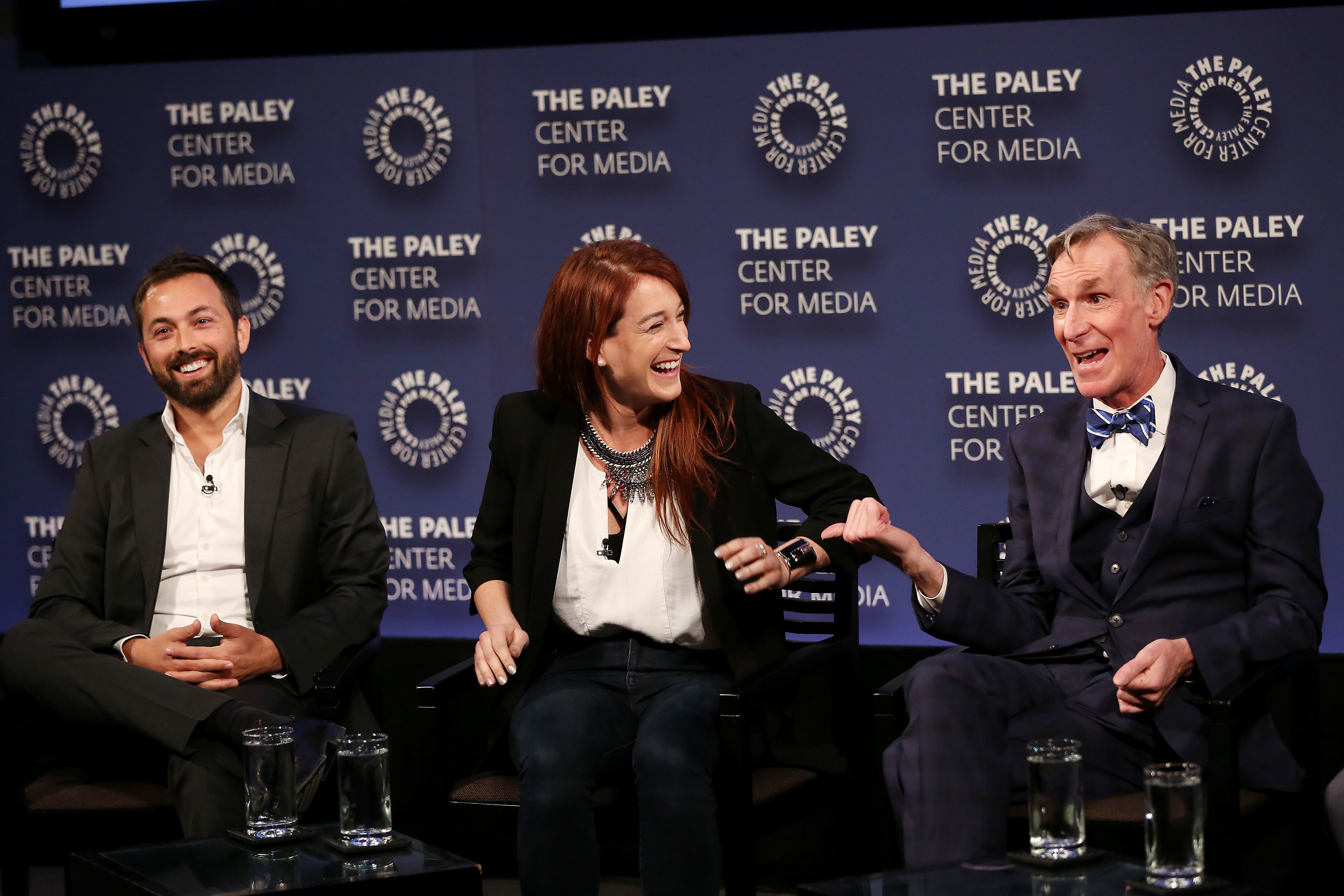 Bill Nye shut down flat earth conspiracies with help from special correspondents Derek Muller and Joanna Hausmann.