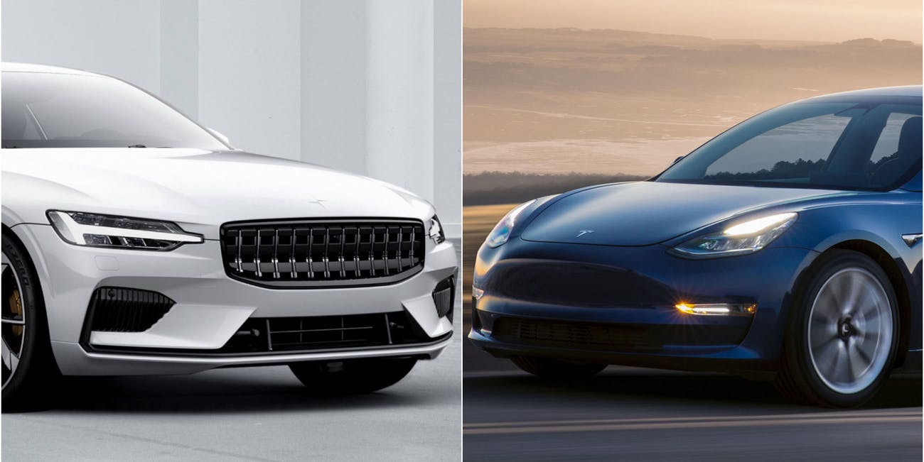 Here S How The Polestar 1 Compares To Tesla Model 3