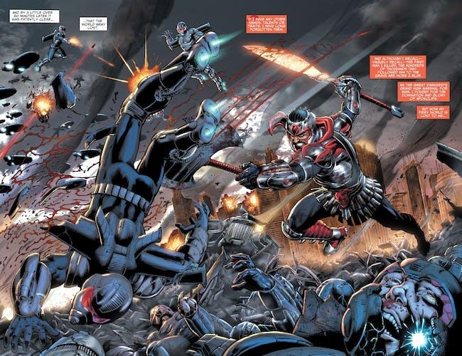 Steppenwolf DC Comics Justice League