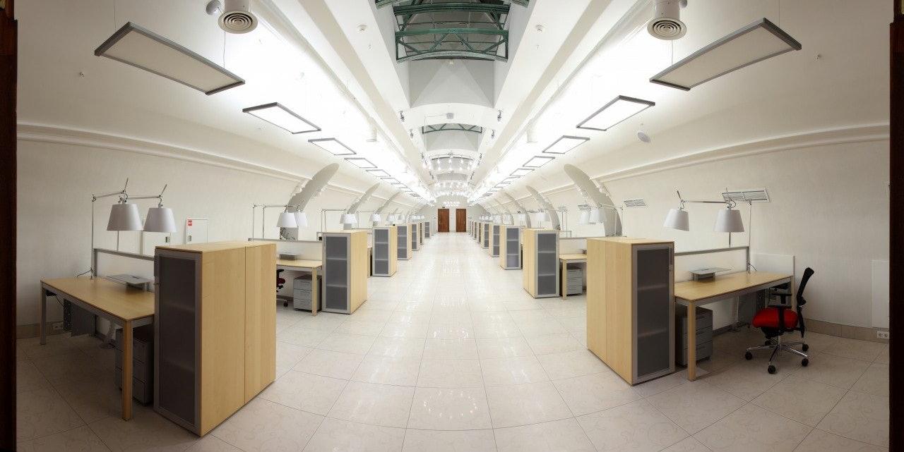 Inside VK headquarters, St. Petersburg.