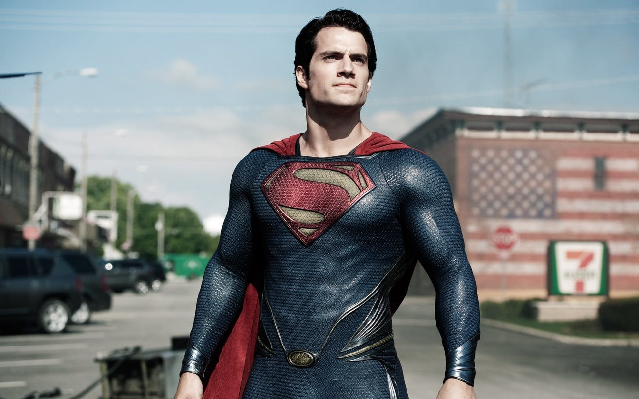Henry Cavill as Superman in 'Man of Steel' (2013).
