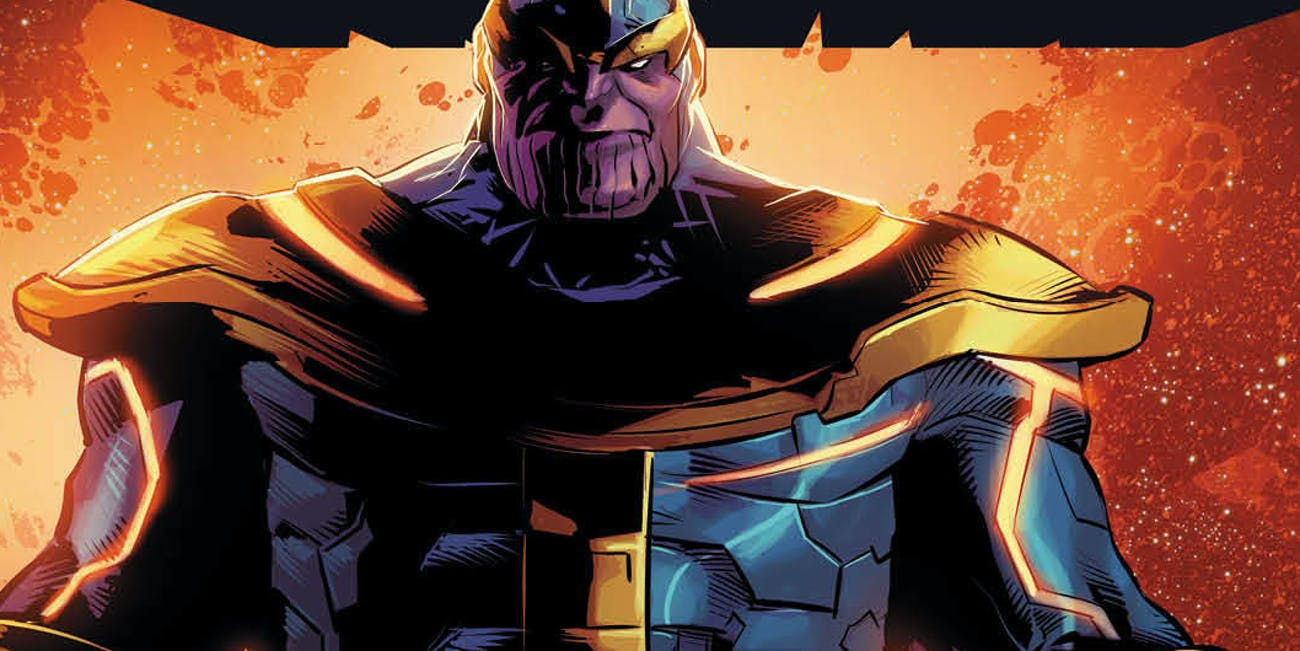 Cover for Marvel's Thanos