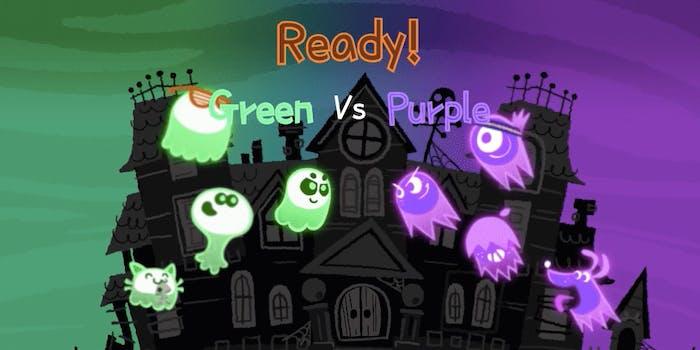 Google Doodle Great Ghoul Duel