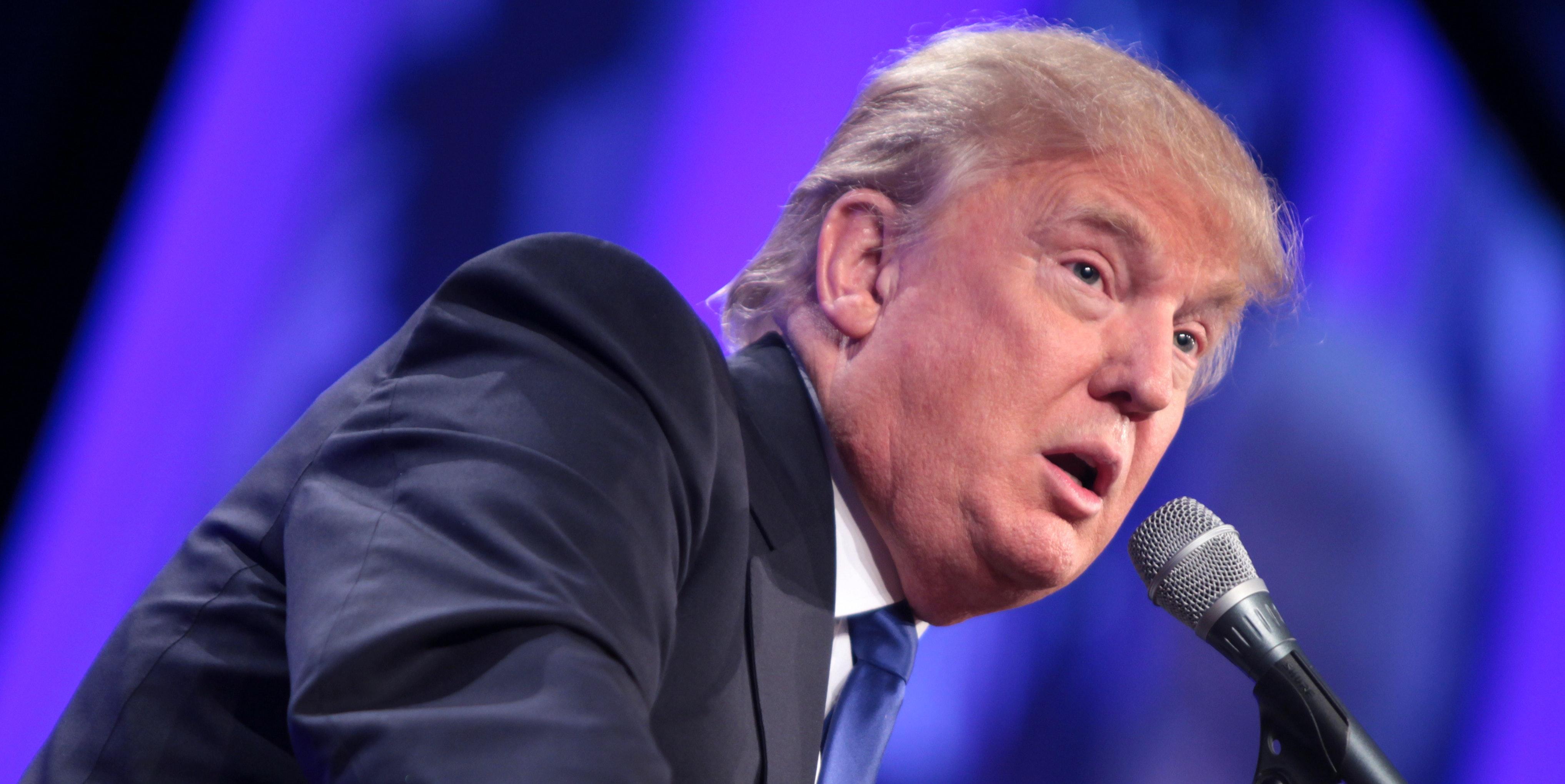 Robot analysis says Donald  Trump is sad.