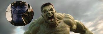 Thanos; Hulk