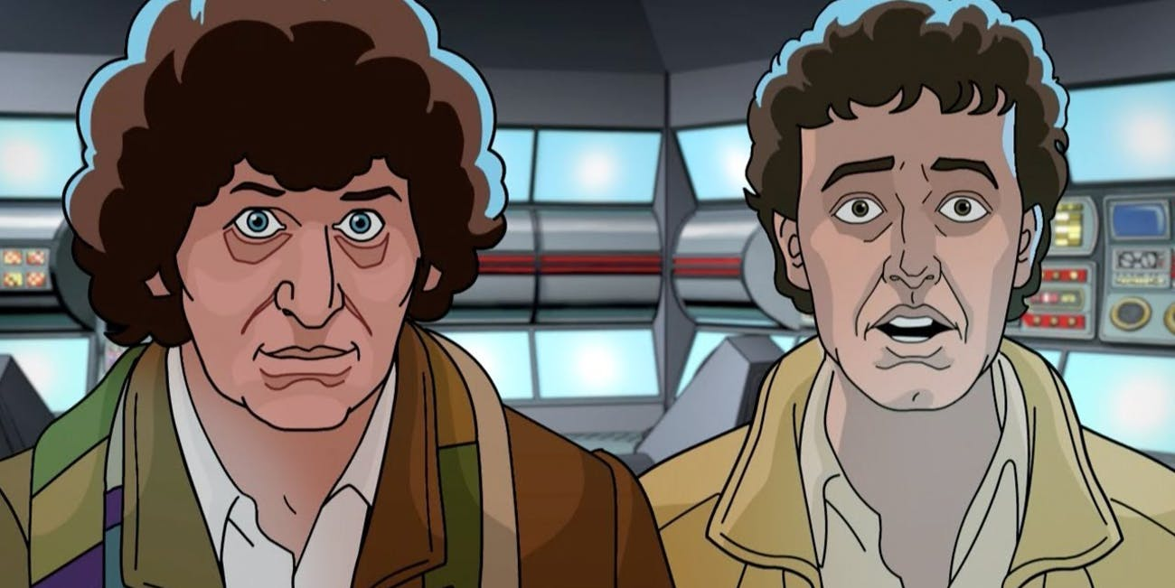 """""""Shada"""" is an epic, scholarly adventure for the 4th Doctor."""