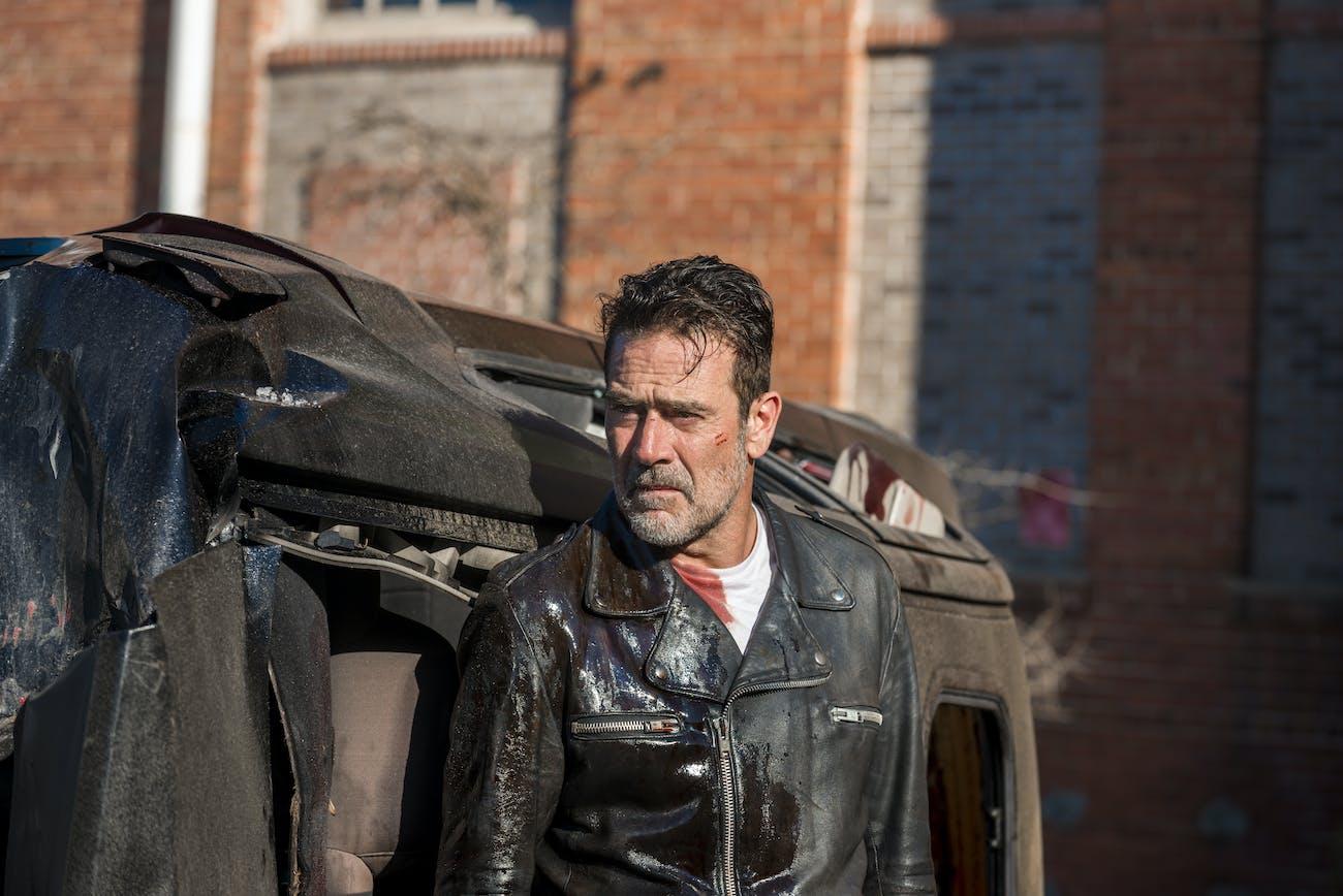 Negan (Jeffrey Dean Morgan) in 'The Walking Dead'.