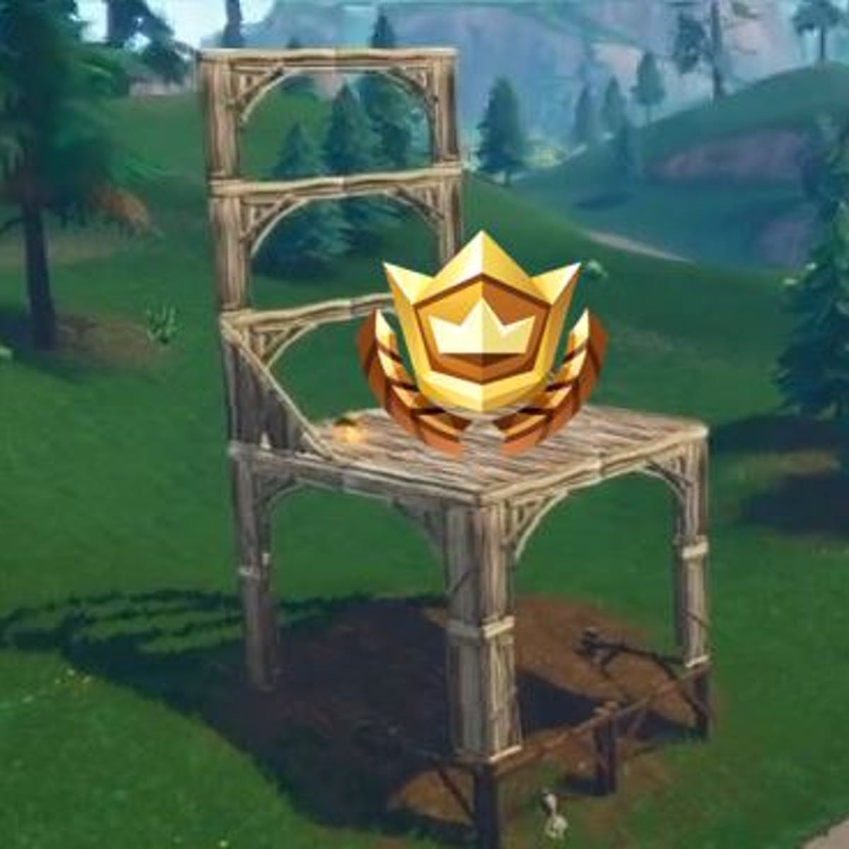 Fortnite Three Oversized Seats Where To Search Between Them In