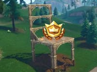 'Fortnite' Search Between Oversized Chairs