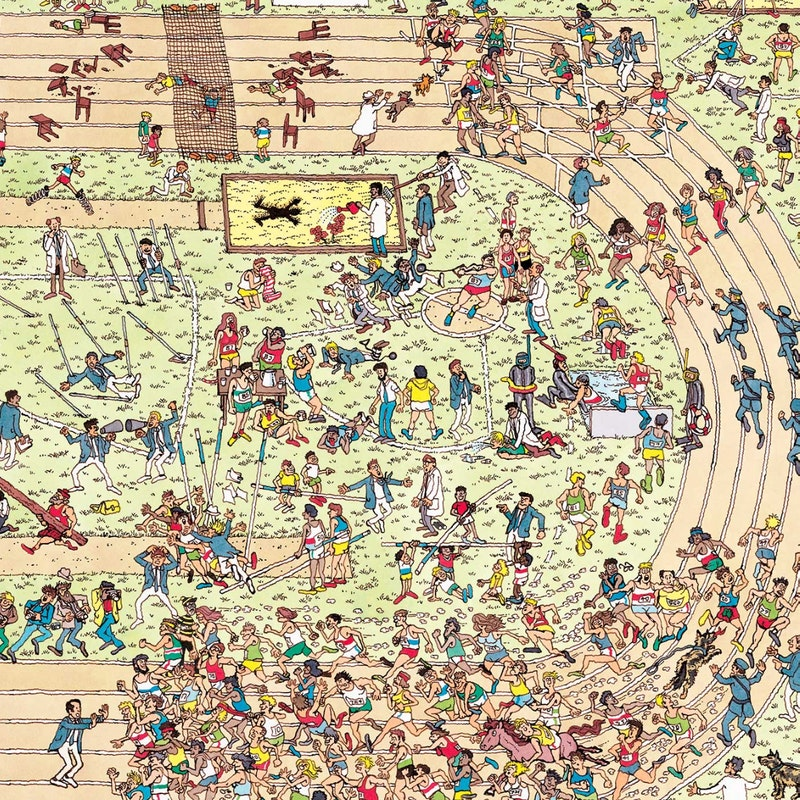 SEARCH - A Where's Waldo contest is happening in downtown Norway and runs  throughout the month of July.