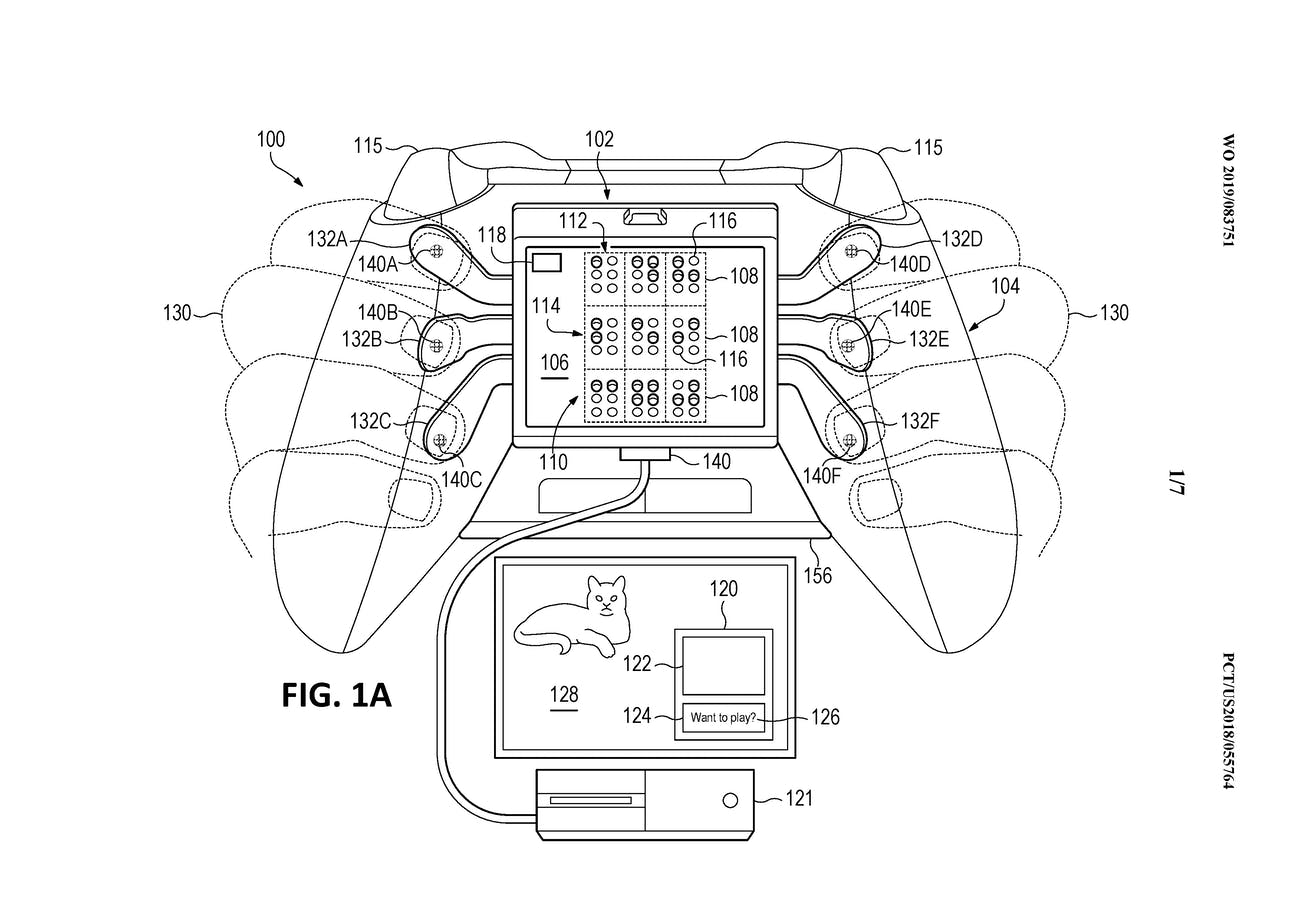 microsoft xbox patent