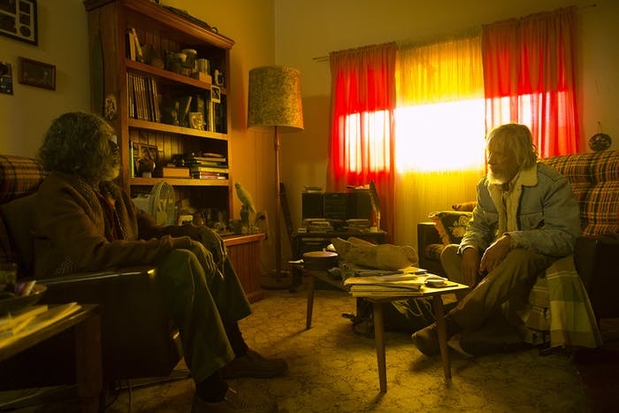 Kevin Senior and Christopher Sunday in 'The Leftovers'