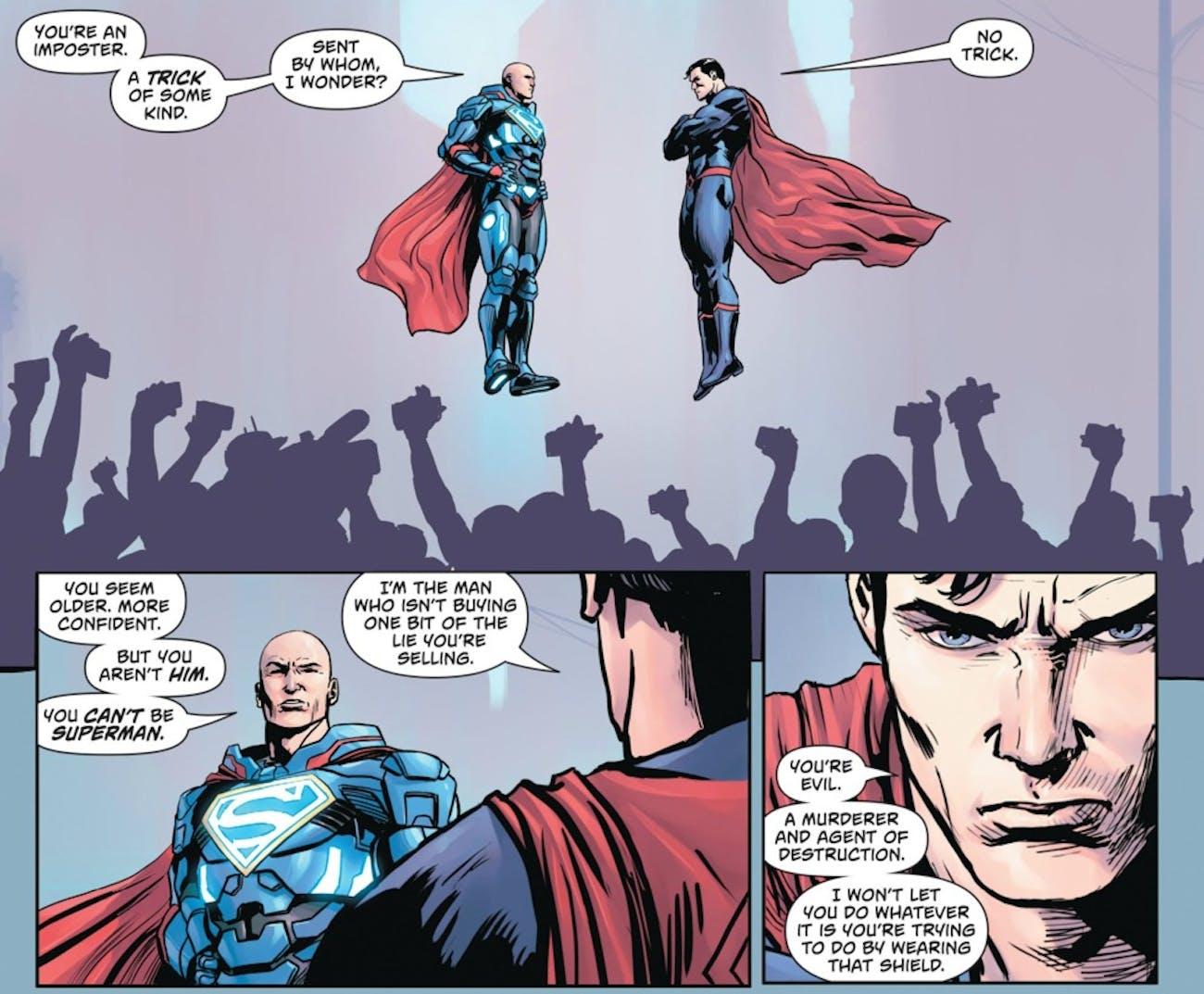 DC Superman Lex Luthor Action Comics Costume