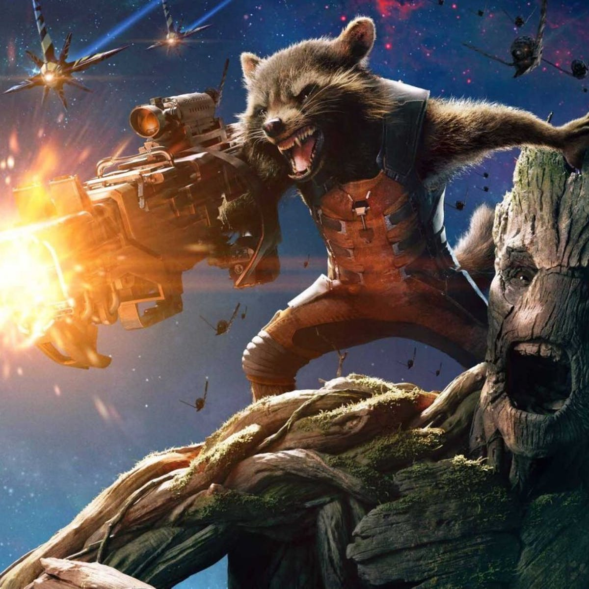 Possible 'Rocket and Groot' Movie Could Look Like the Comics