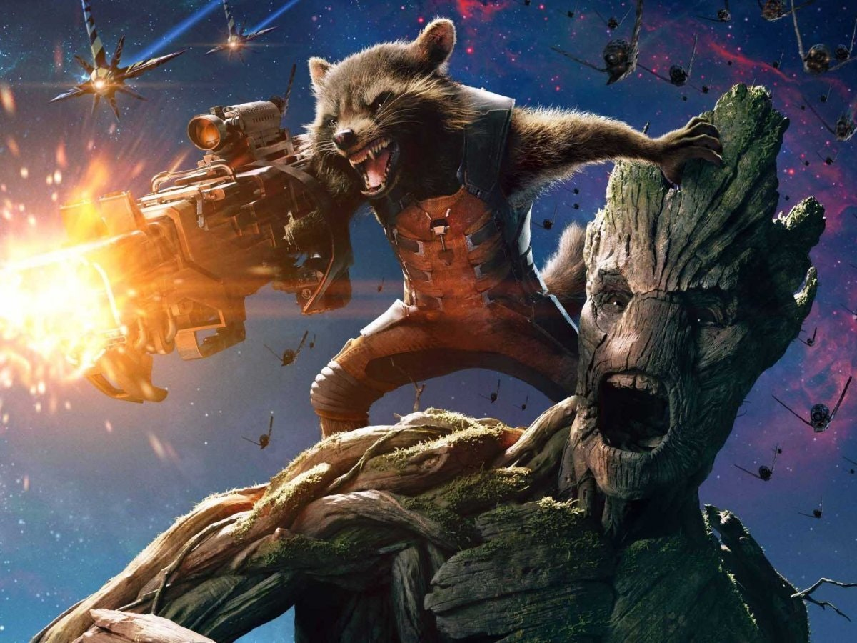 Cover for Marvel Comics' 'Rocket Racoon and Groot'