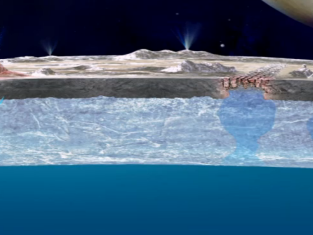 Alien Life Might Live in Subsurface Ocean Worlds