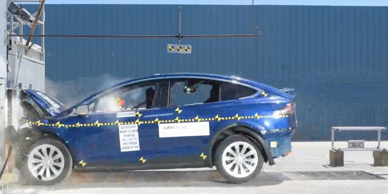 Elon Musk explains why Tesla is crushing every safety rating.