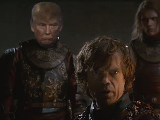 Watch This Video Mashup of the Best of Donald Trump and 'Game of Thrones'