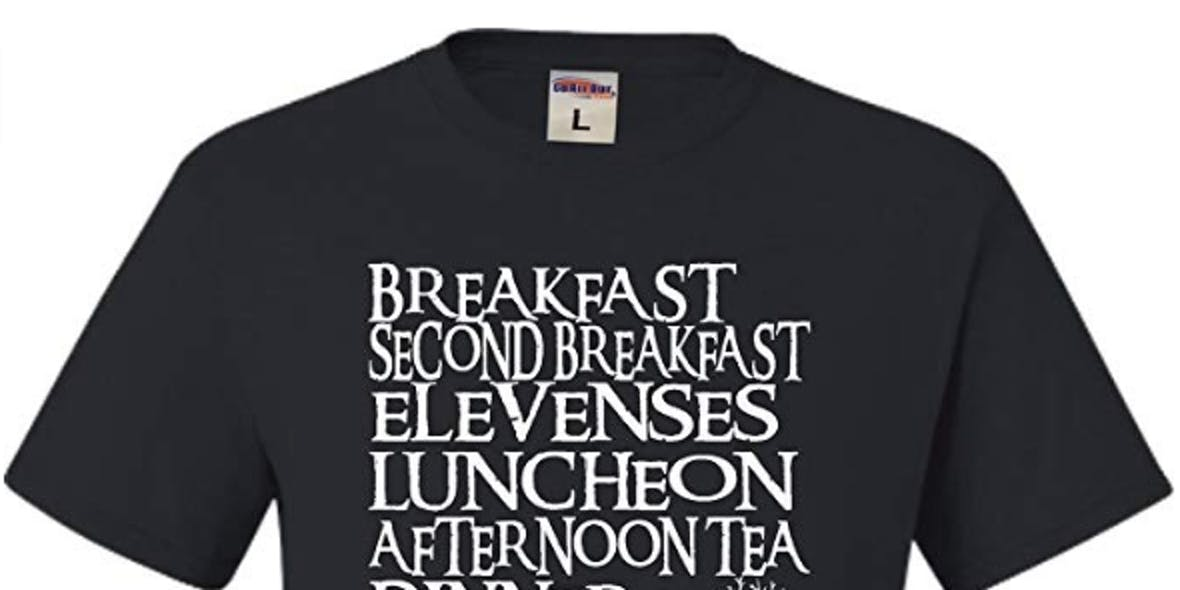 Go All Out Adult The Seven Daily Meals T-Shirt
