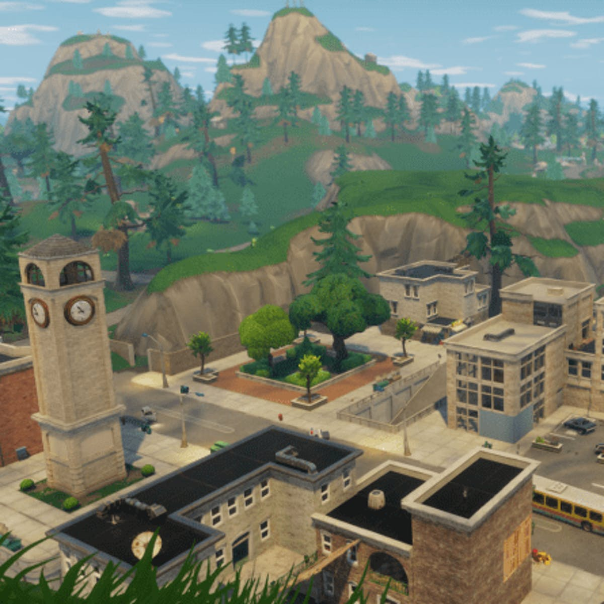 Fortnite Season 10 Map Changes Tilted Town Is Just The
