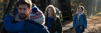 'A Quiet Place' reinvents one huge sci-fi trope in a really compelling way.