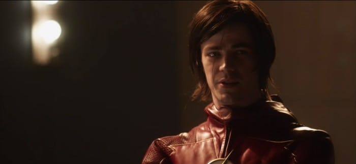 Emo Barry rocks a new suit in the future.