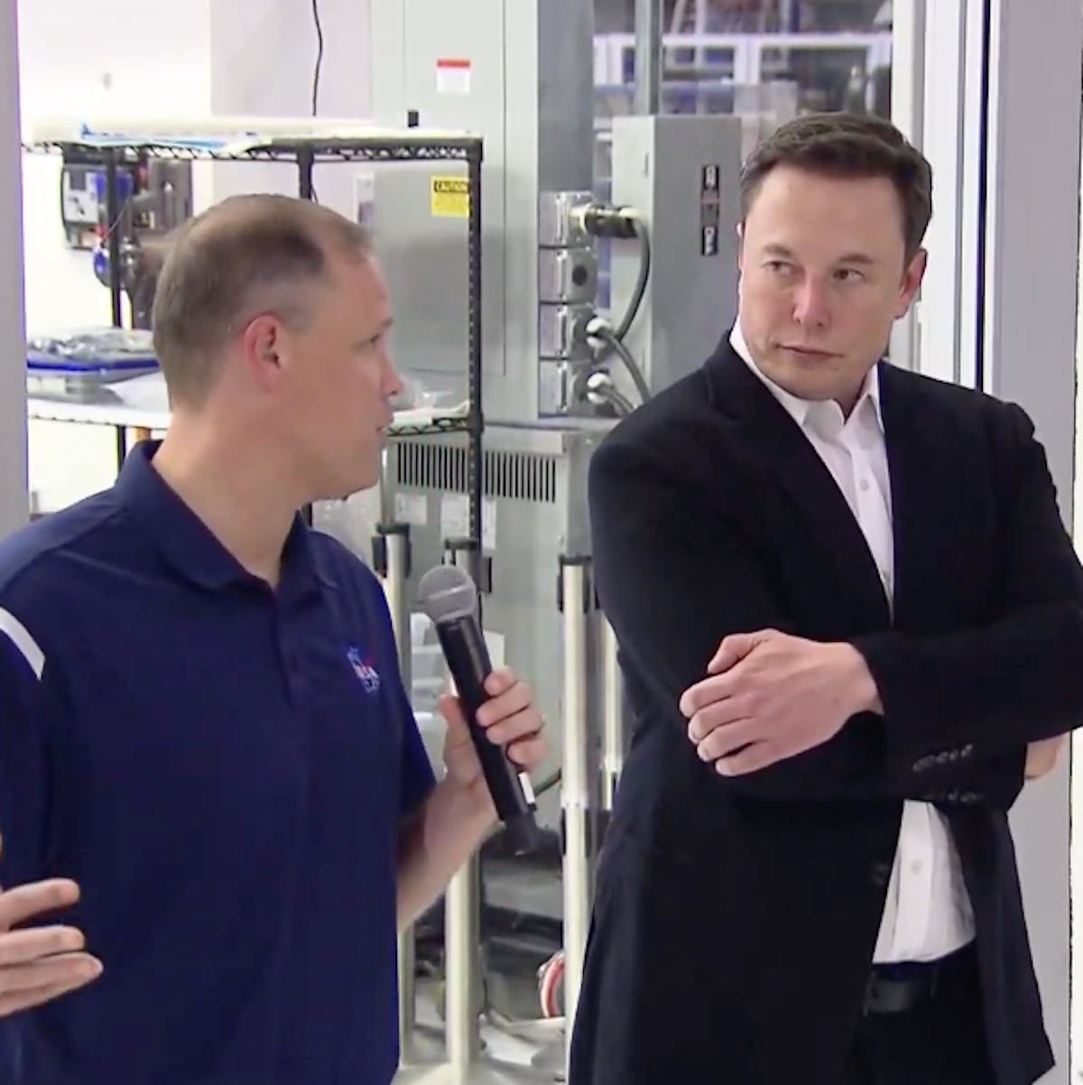 Elon Musk and NASA chief try a public reconciliation after awkward fight