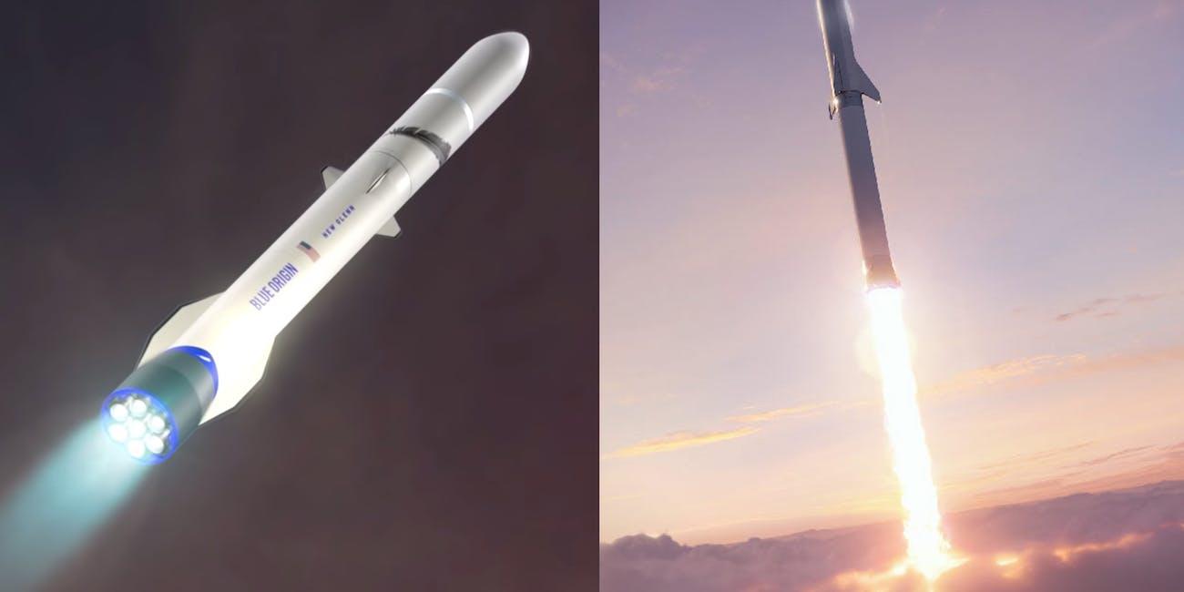 New Glenn vs BFR