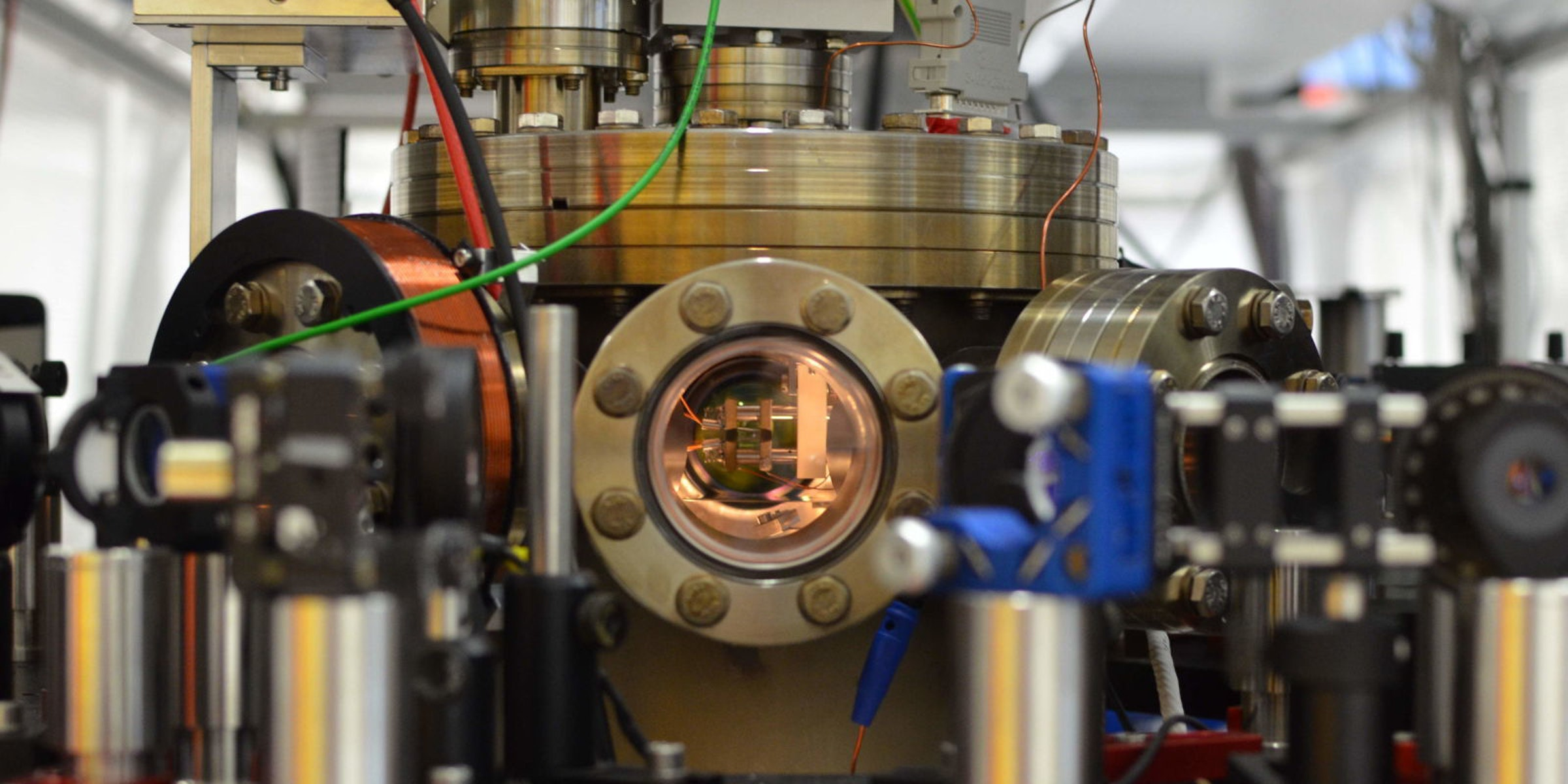 Physicists Built a Super Tiny Engine Powered by a Single Calcium Atom
