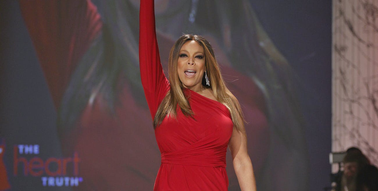 Wendy Williams in Norma Kamali