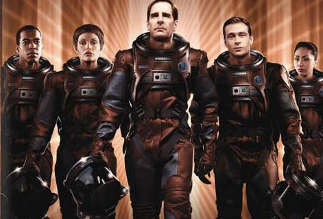 Archer Trip Hoshi Enterprise promo art spacesuits